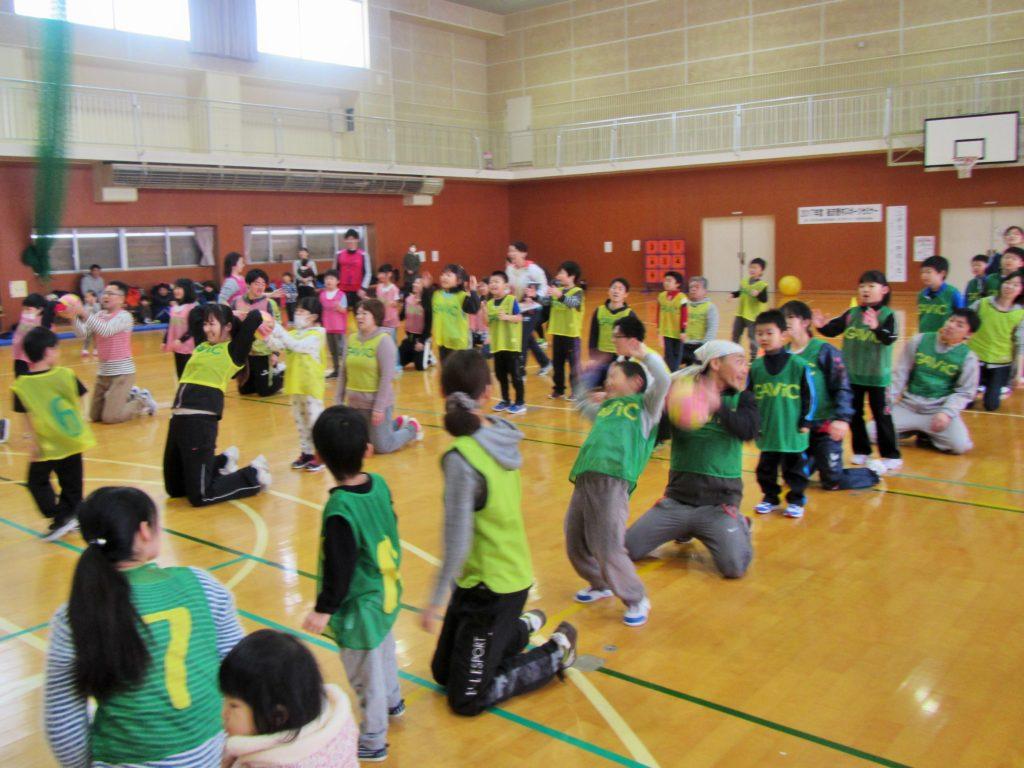 スポーツ教室 親子運動会開催