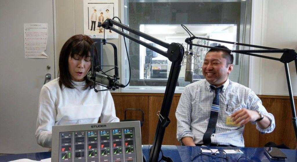 ラジオ出演 葛巻町学習塾