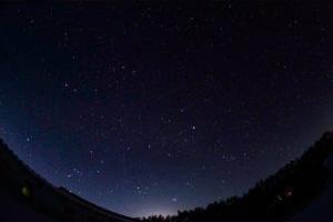 暮らしの中で満点の星空が見られることも魅力です