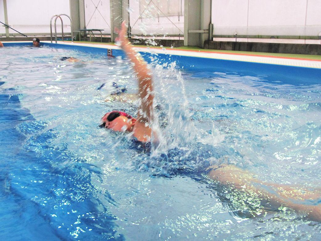 【古平スポーツクラブ】プール学習の様子